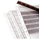 25 x Negative Filing Sheets for 35mm Film. Acid-Free, Archival Safe. Premium Waxed