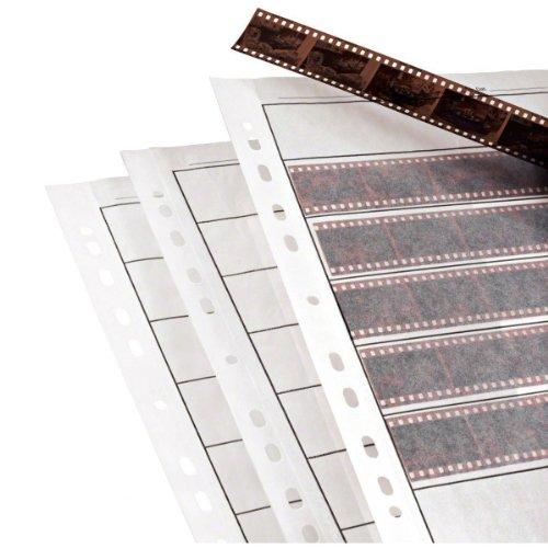 25x Negative Abheften Blatt für 35mm Film. säurefrei, archivsicher. Premium Gewachste Papier Aufbewahrungskisten Seiten für Ringbücher