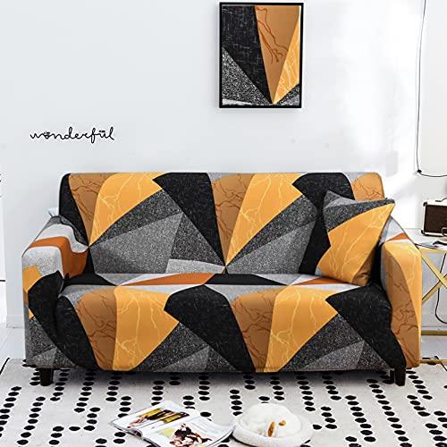 DAZYGZ All-Inclusive-Couch-Koffer Für Sofas In Verschiedenen Formen Stretch-Sofabezug Schonbezüge Elastischer Loveseat-Stuhl L-Stil Sofa-Koffer