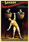 TH3 Vintage The Sandow Trocadero Vaudevilles Strong Man Circus Carnival Poster Re-Print - A4 (297 x 210mm) 11.7' x 8.3'