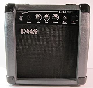 RMS Compact Guitar Amplifier, Model # RMSG12, 11 x 11 Inches