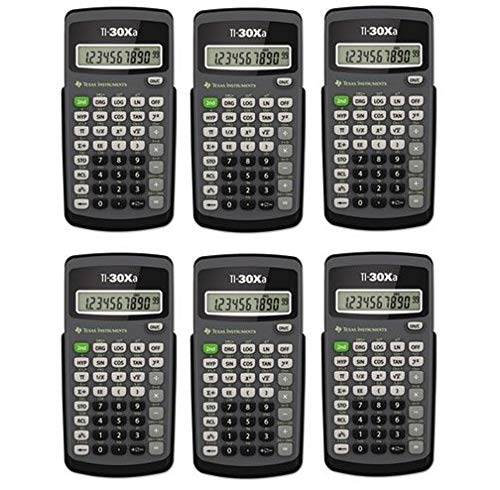 ti 30xa calculator - 9