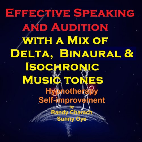 Effective Speaking - with a Mix of Delta Binaural Isochronic Tones audiobook cover art