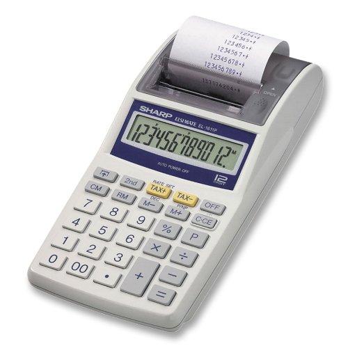 Sharp Electronics EL1611PA Printing Calculator.