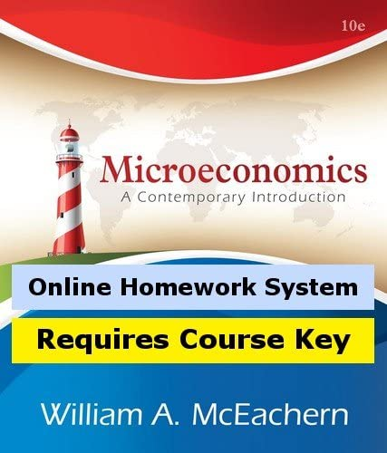 Aplia for Recommended Industry No. 1 McEachern's Microeconomics: Contemporary A Introductio
