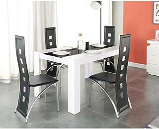 Amazon Fr Table Et Chaise Salle A Manger Generique