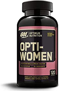 Optimum Nutrition ON Optikvinnor, multivitamin och mineralämnen kapslar för kvinnor med folsyra, C-vitamin D och B komplex...