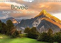 Bovec. Berge - Waelder - Baeche (Wandkalender 2022 DIN A4 quer): Malerische Landschaften aus dem slowenischen Bovec. (Monatskalender, 14 Seiten )