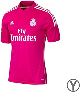 Real Madrid Away Jersey/ Pink- White/ Size: Youth Medium