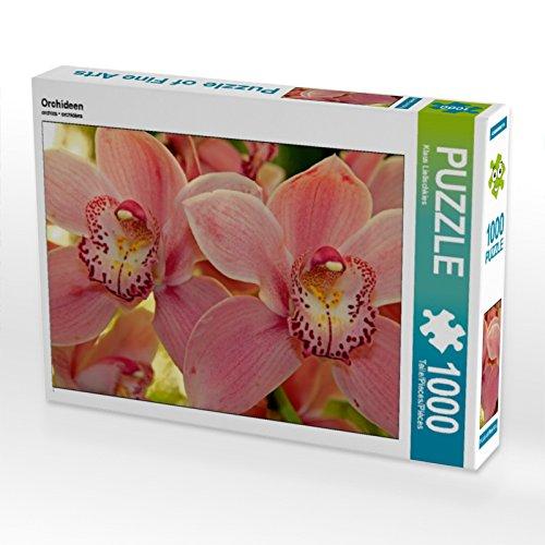 CALVENDO Puzzle Orchideen 1000 Teile Lege-Größe 64 x 48 cm Foto-Puzzle Bild von Klaus Lielischkies