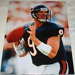 Jim McMahon Hand Signed / Autographed Chicago Bears 11 x 14 Photo