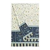 Bassetti OPLONTIS Granfoulard Algodón, Azul, 180 x 270 x 1 cm