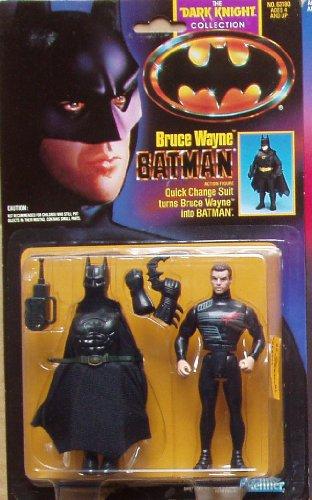 BATMAN Kenner Dark Knight Bruce Wayne Quick Change Figure