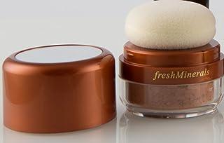 freshMinerals Mineral Bronzing Powder Puff, Caribbean, 6 Gram