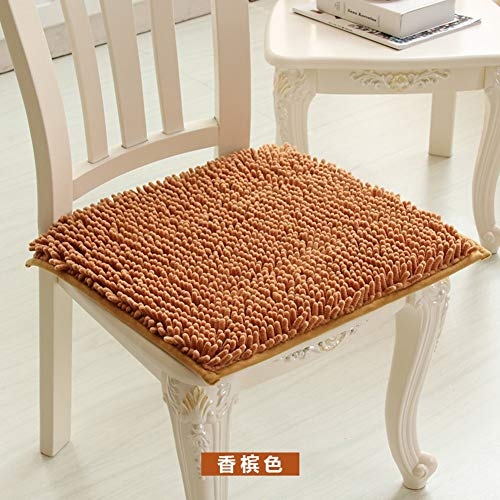 Sneeuwweerstand in de bekleding, zachte kussens, kussen voor bureaustoelen, stoel, eettafel, dikte 50 x 50 cm.