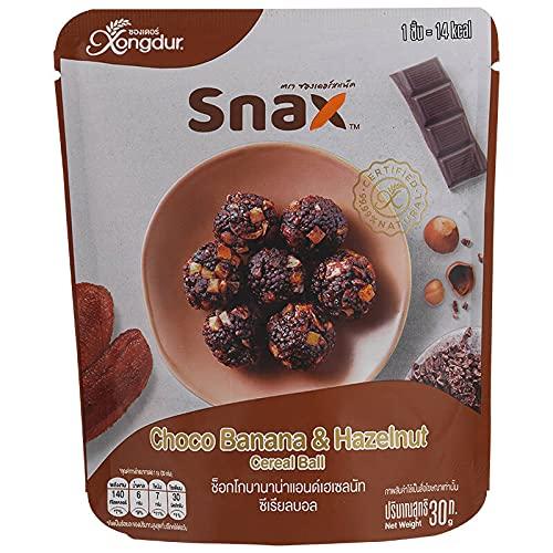 Xongdur Albuquerque Mall Snax Choco Banana Hazelnut 30 Pack Cereal g. 67% OFF of fixed price Ball