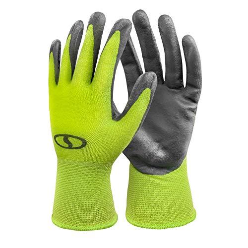 Sun Joe GGNP-S3 Multi-Use Nitrile-Palm Gloves, One Size Fits Most, Set of 3