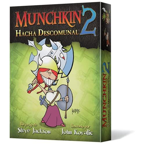 Edge Entertainment- Munchkin 2: Hacha Descomunal (Asmodee, EESJMU02), Color