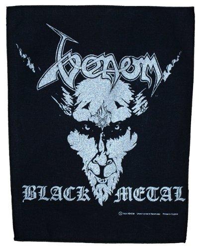 VENOM - Black Metal [parche en la espalda, estampado] [BP563]