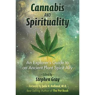 Cannabis and Spirituality audiobook cover art