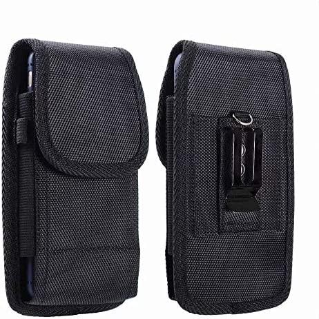 Nylon Phone Holster for LG Phoenix 3 4 Rebel 4 for Samsung Galaxy A01 Waist Pouch Case with product image