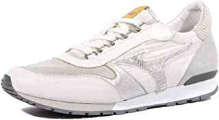 outlet store 08179 8678b Mizuno Naos Homme Chaussures Blanc Gris
