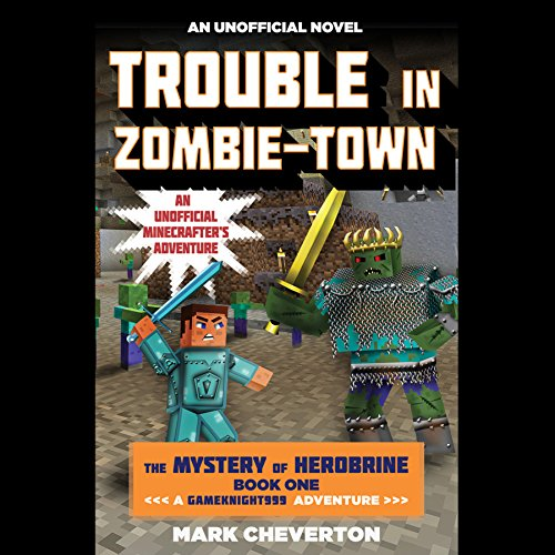 Trouble in Zombie-Town audiobook cover art