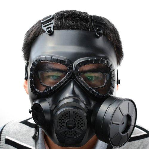 Mask M04 - máscara de gas (con filtro, cara completa., negro