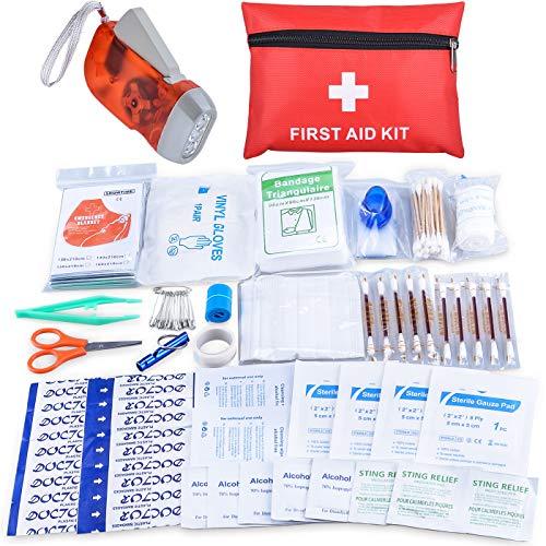 Oziral Botiquín Primeros Auxilios, Mini Kit de Primeros Auxilios a Pr