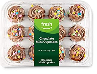 Fresh Brand – Chocolate Mini Cupcakes, 10 oz (12 ct)