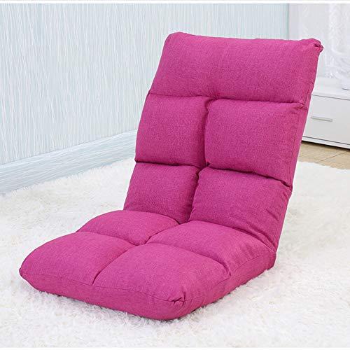 AiHerb.LO JL HX Tatami Paresseux Canapé Chambre Simple Baie Vitrée Pliante Loisirs Lit Dortoir Chaise Mini Canapé-lit Sac en Coton Indépendant Lavable Simple Et Pratique A+ (Couleur : C)