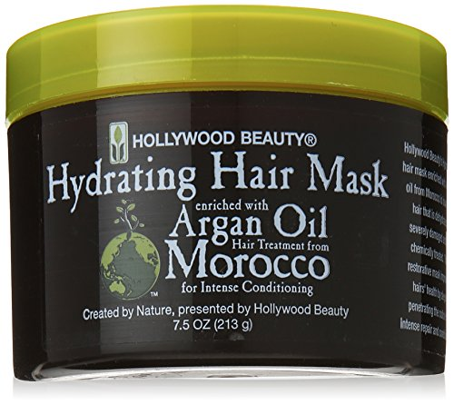 HOLLYWOOD BEAUTY Hydrating Hair Mask Enriched with Argan Oil 7.5 oz by Hollywood