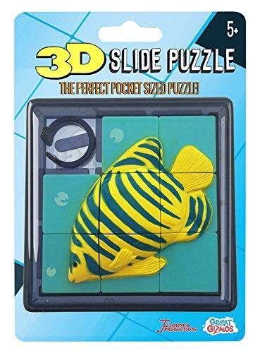 Great Gizmos A03659 - Puzzles deslizantes para Peces