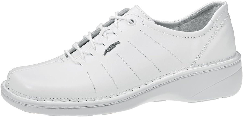 Abeba 6900-38 Size 38 Reflexor  Occupational Lace Up shoes - White