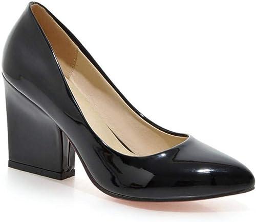 VIVIOO Escarpins pour Femmes Bout Pointu Chaussures Printemps été été été Classique Chaussures à Talons Hauts Femme Chaussures de Bureau 8eb