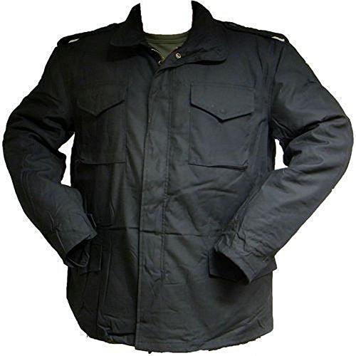 M65 Feldjacke Jacke US Army Security Jacket Parka Thermo schwarz Gr. XXL