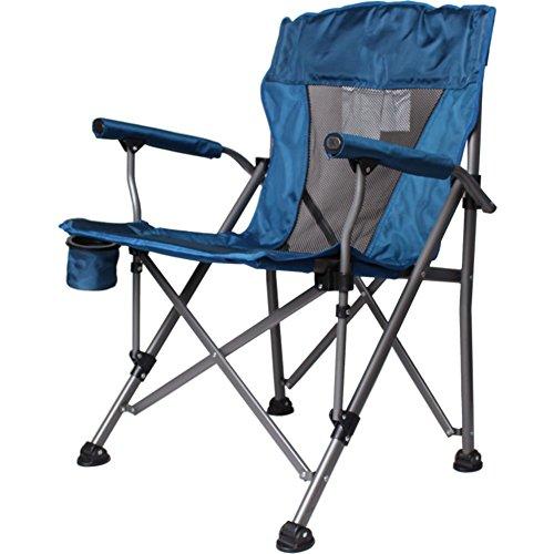 LELI Chaise Pliante Extérieure,Chaise De Plage,avec Dossier Portante élevée Portable Chaise Pliante pour Randonnée,Pêche,Plage-D 64x65x94cm(25x26x37inch)