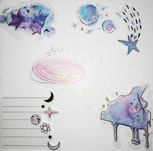 CHengQiSM The Little Prince Sticker Planet and Fox Stickers Set (60PCS) Decorative Sticker Decoration for Scrapbooking… |