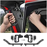 Voodonala for Jeep JK Black Metal Grab Handles Kit for 2007-2018 Jeep Wrangler JK JKU 2 & Unlimited 4 Door