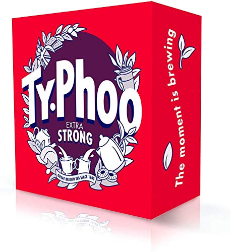 Typhoo Tea (Bold Extra Strong 80ct Foil fresh, Pack 1)