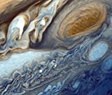 Gifts Delight Laminated 28x24 inches Poster: Jupiter Planet Big Red Stains...