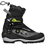 Fischer Men's Offtrack 5 BC Cross Country Ski Boots, Black/Grey, 40