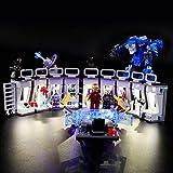 LIGHTAILING Conjunto de Luces (Super Heroes Iron Man Sala de...