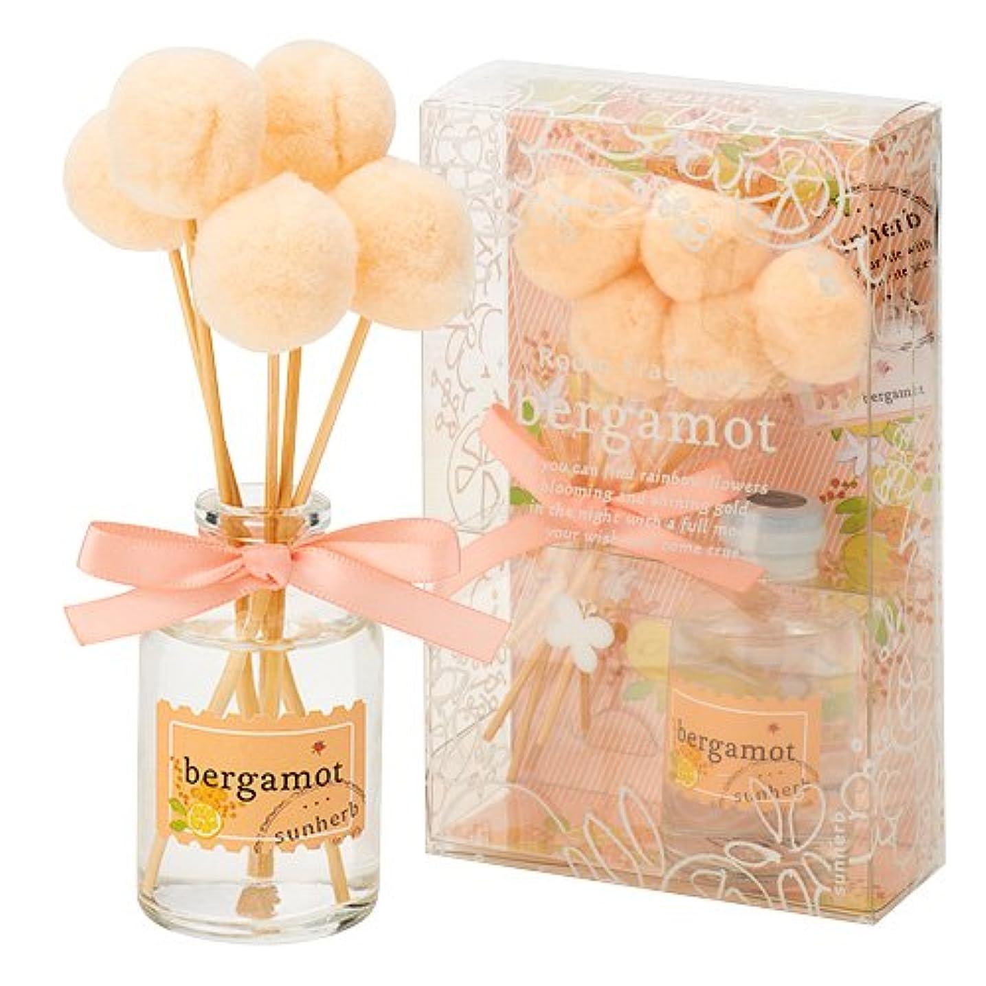 従来の想像力豊かなラッシュサンハーブ ルームフレグランス(フレグランスオイル30ml/スティック5本 懐かしい甘酸っぱい香り) ベルガモット (芳香剤 懐かしい甘酸っぱい香り)
