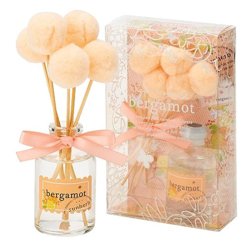 進むのり抗生物質サンハーブ ルームフレグランス(フレグランスオイル30ml/スティック5本 懐かしい甘酸っぱい香り) ベルガモット (芳香剤 懐かしい甘酸っぱい香り)