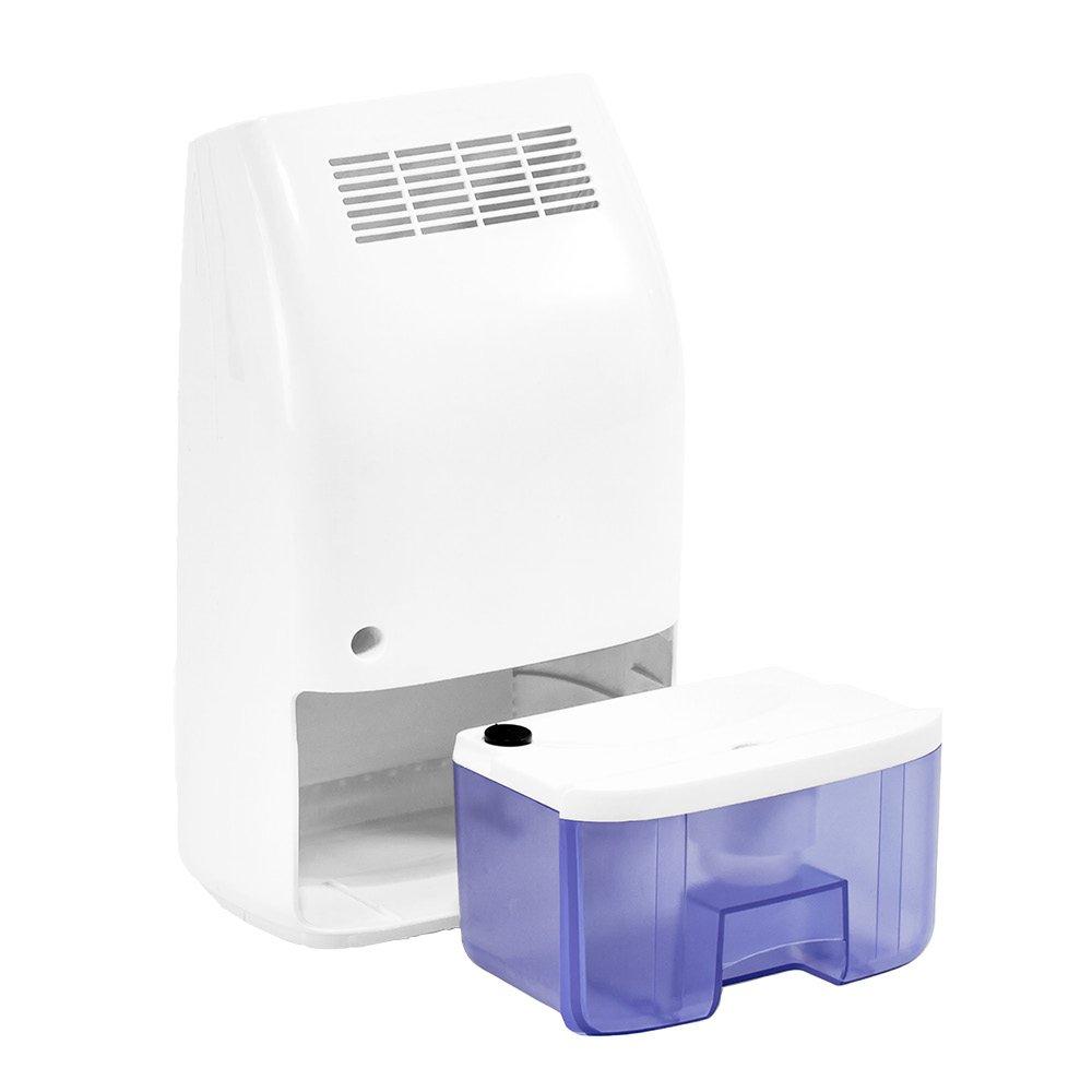 TROTEC Deshumidificador Peltier TTP 5 E / 300 ml por Día / Purificador de Aire / Habitaciones de 6m² / Filtro de Aire / Depósito de 0,7 L / Diseño Compacto y