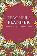 secondary school teacher planner