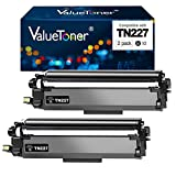 Valuetoner TN 227 TN 223 Compatible Toner Cartridge Replacement for Brother TN227 TN223 to use with MFC-L3770CDW MFC-L3750CDW HL-L3230CDW HL-L3290CDW HL-L3210CW MFC-L3710CW Printer (Black,2 Pack)