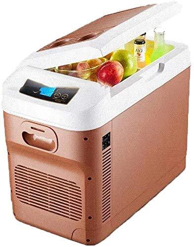 DAGCOT 28L portátil refrigerador, Enfriador for Coches eléctricos a Bordo de la Pantalla de Temperatura LED Inteligente de gestión de la energía-El Uso del Ventilador, 3 (Color : 3)