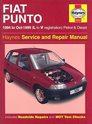 Fiat Punto Petrol & Diesel (94 - Oct 99) L To V (Haynes Service and Repair Manuals) by Haynes Publishing(1996-10-01)